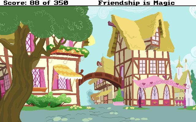Sierra: FiM - Ponyville by FrankRT