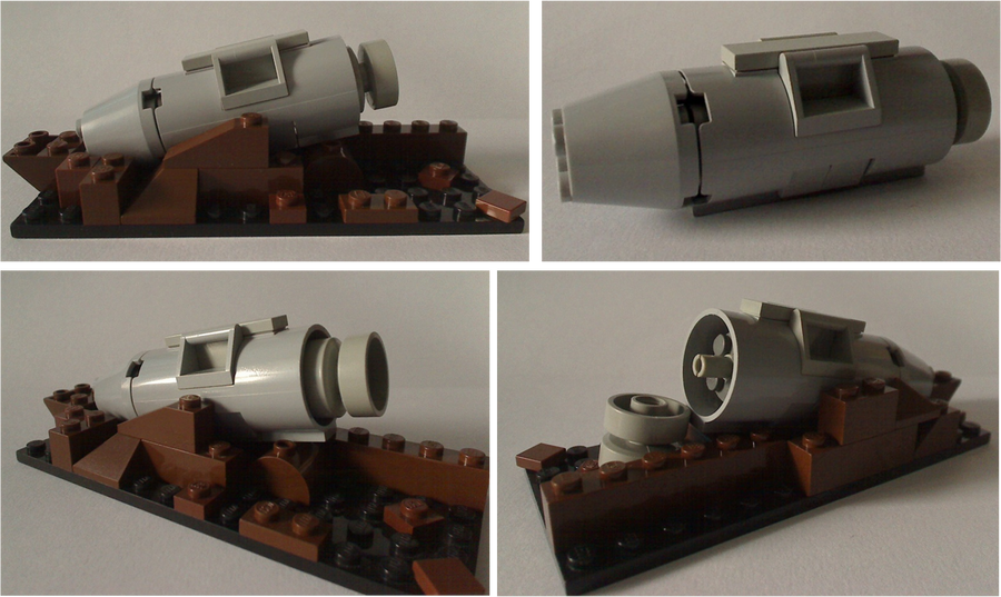 Martian Cylinder in War Of The Worlds, AKA Invasion. War of the ...