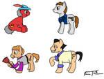 Sierra Ponies by FrankRT