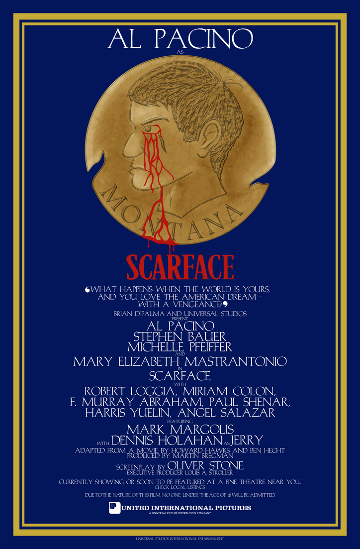 Scarface (Another Shameless Caligula Poster Spoof) by FrankRT on ...