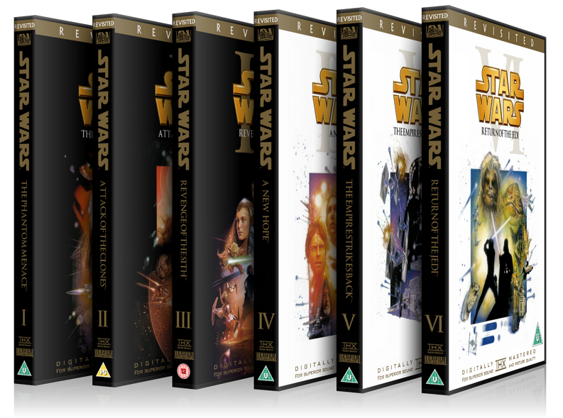 The Star Wars Revisited Saga S Custom Blu Ray Dvd Cover Thread Original Trilogy