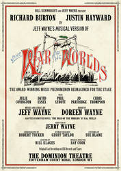 The War of the Worlds 1980 London Production by FrankRT