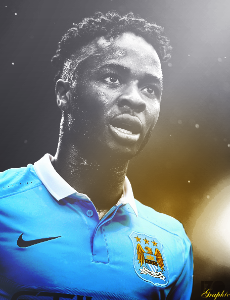 Raheem Sterling Manchester City Effect By Izographic On
