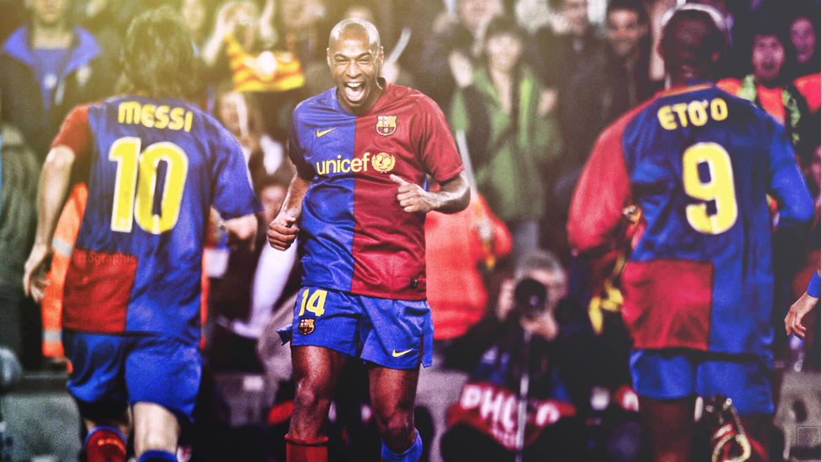 fca40ed25 Thierry Henry Barcelona Effect Wallpaper HD! by izographic on DeviantArt