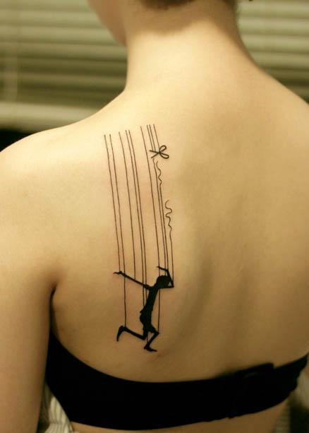 dancing tattoos