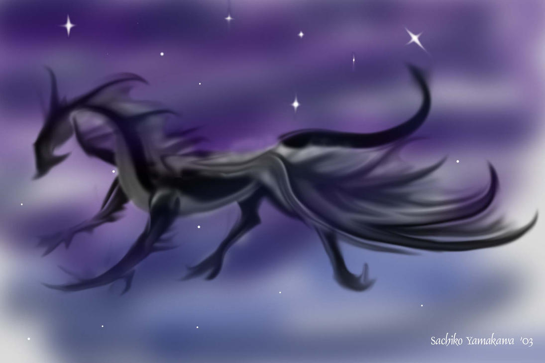 If I were a dragon ... I would look like this .. - Page 2 Black_Mystical_Dragon
