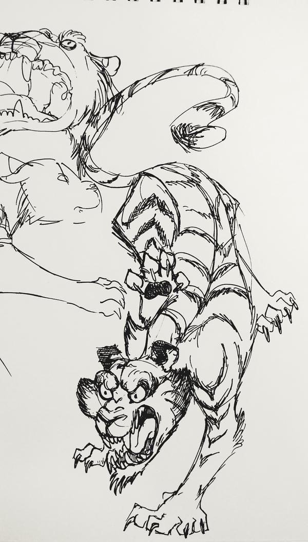 Tigger by GauthamHail