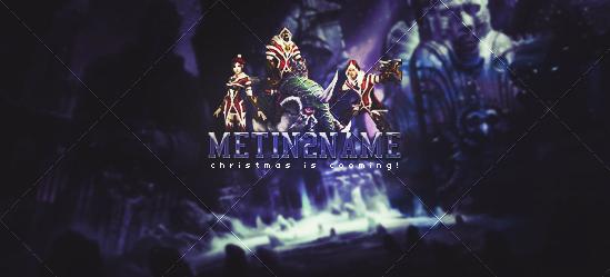 Metin2 Christmas Banner by MayasOldPenguin