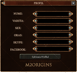 Metin2 Origins : Profile Box