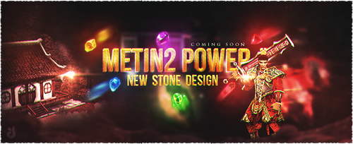 Metin2 Power NEW STONE DESIGN Banner