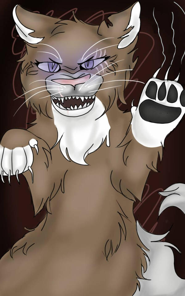 Angry Big Cat by FrappuccinoArt