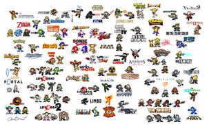 Many, Many Mega Men by captainslam