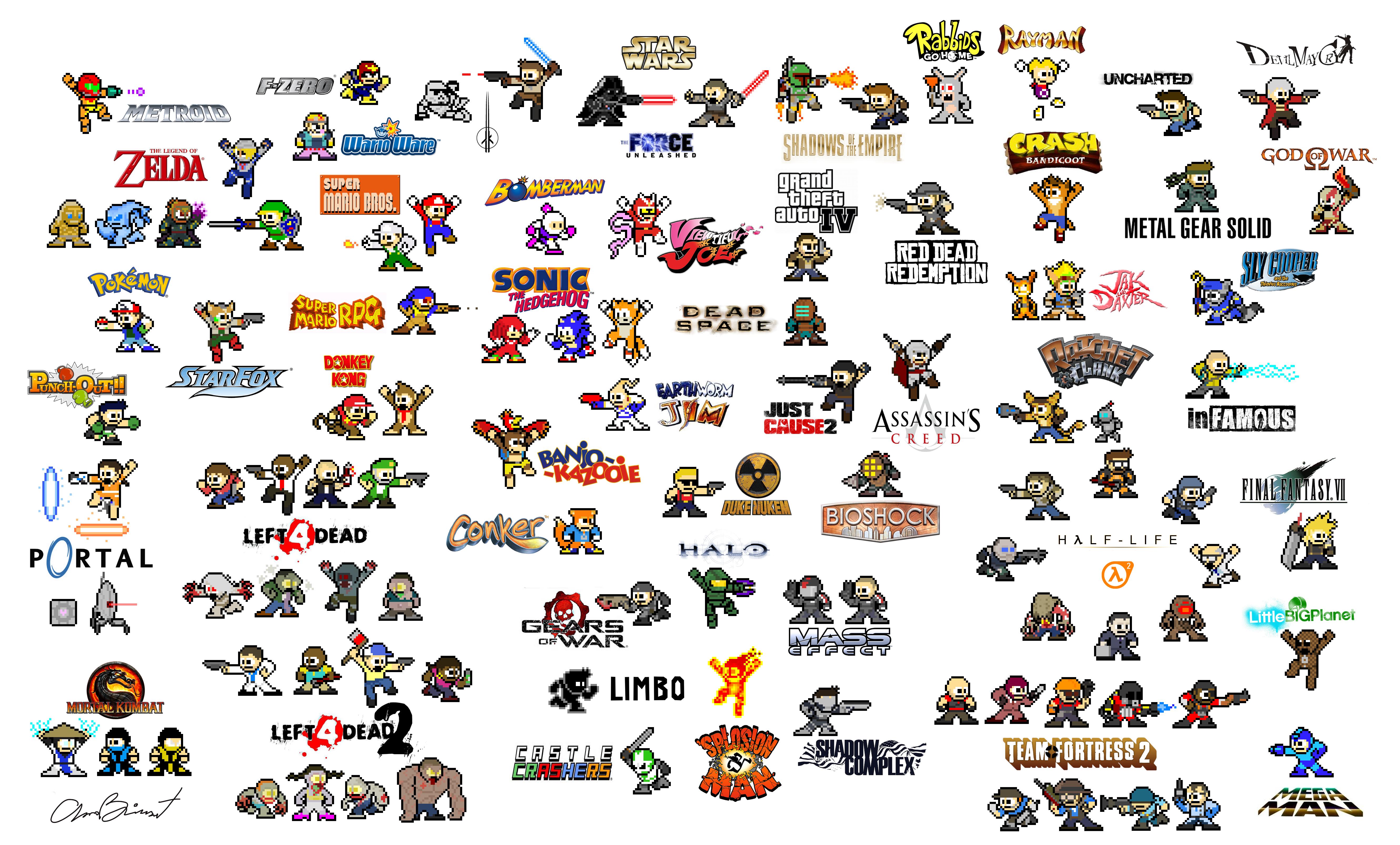 Many, Many Mega Men