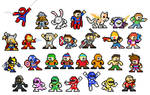 29 Mega Man Leftovers