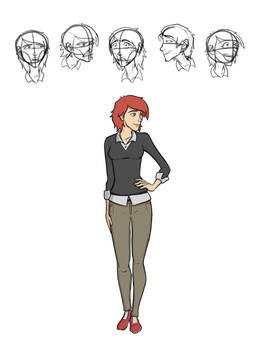'Sidekick' - Sarah Character Art