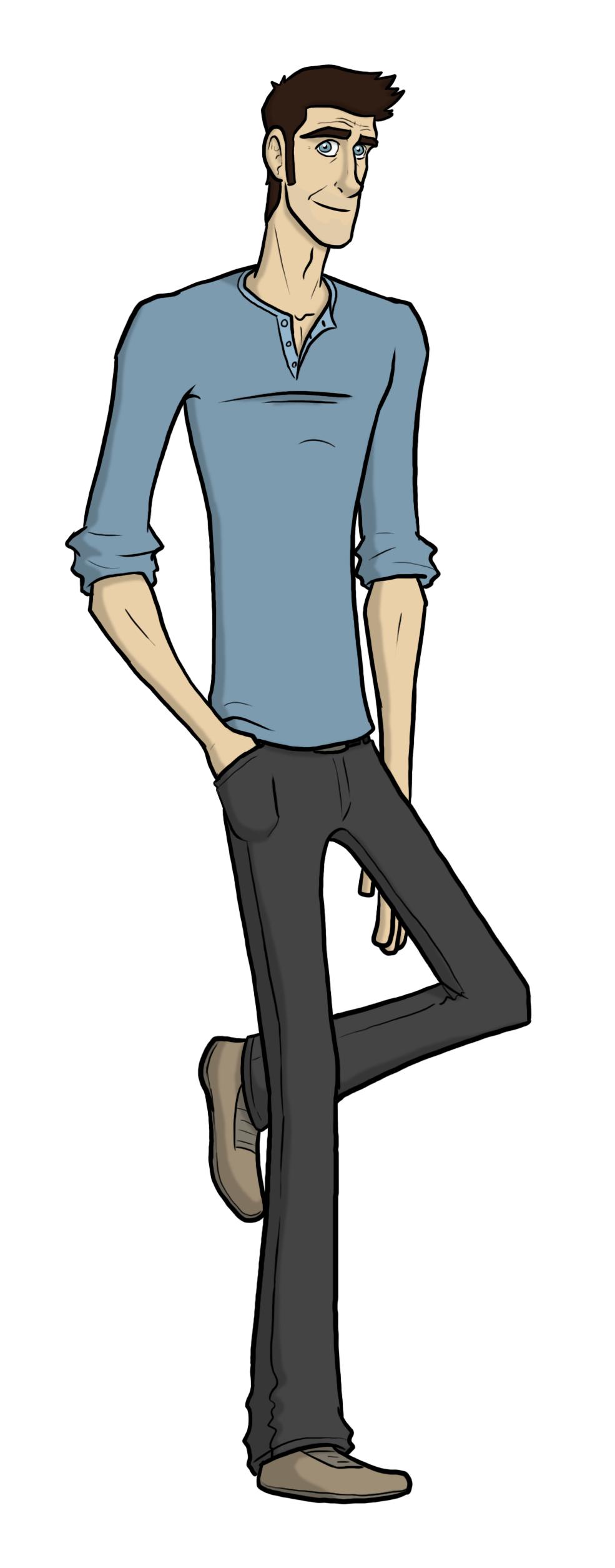 'Sidekick' - David Character Art by captainslam