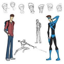 'Sidekick' - Kyle and 'Ricochet' Character Sheet