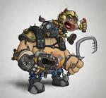 Overwatch - Roadhog and Junkrat