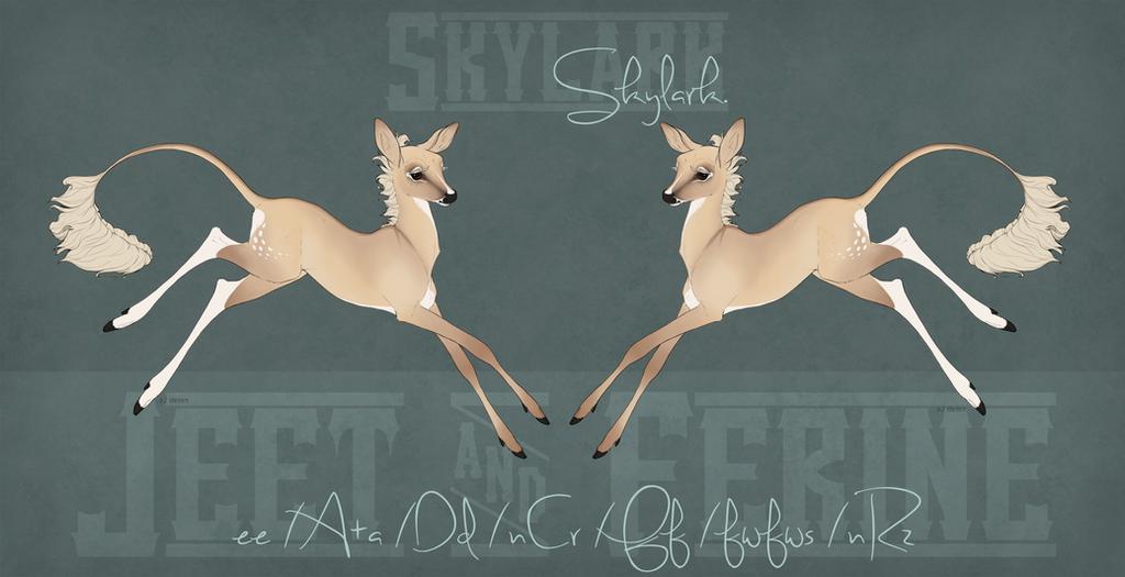 Skylark Fawn Design by hartandhind