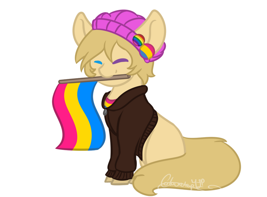 Pride YCH- Spitfire-SOS by ColourdropArt