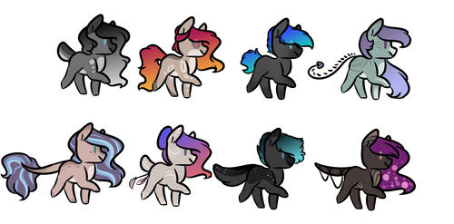 Adopt Batch 32 (1/8) by ColourdropArt