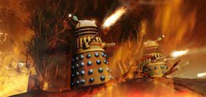 Burning Kembel by Chrisofedf