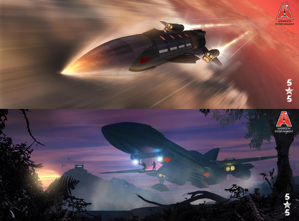 5 Star 5 - Stealth transport. by Chrisofedf