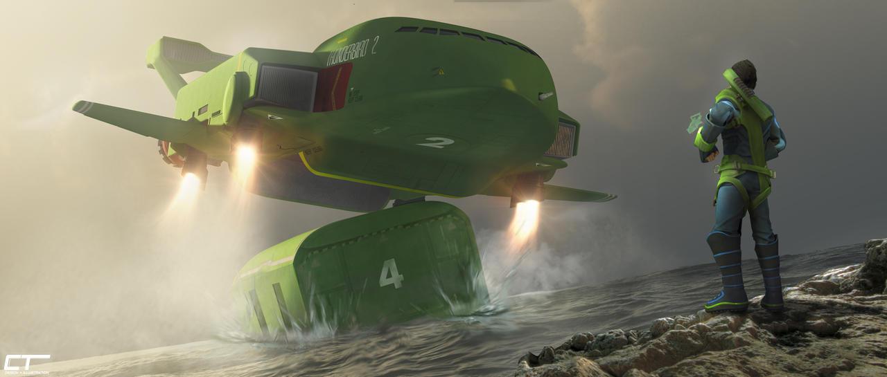 Thunderbird 2: Man and Machine by Chrisofedf