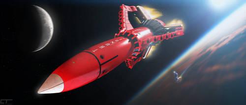 Thunderbird 3: Breaking Orbit by Chrisofedf