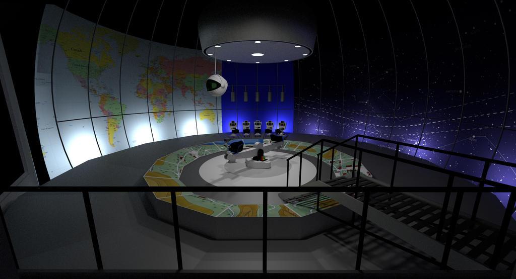 Control room set by Chrisofedf