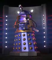 Dalek Time Strategist by Chrisofedf