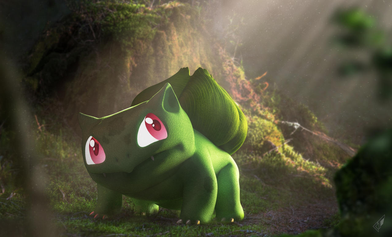 A Wild Bulbasaur by Chrisofedf