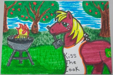 Grilling with Big Mac by Hindsightis2020