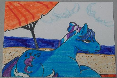 Day at the beach by Hindsightis2020