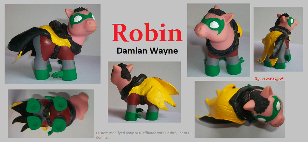 Robin (Damian Wayne) by Hindsightis2020