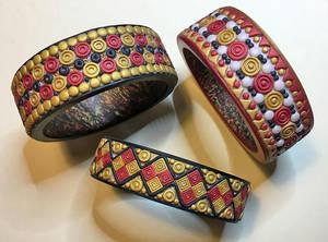 Hallstatt Inspired Bangle Bracelets 2020