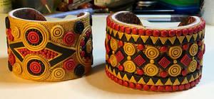 Hallstatt Inspired Cuff Bracelets 2020
