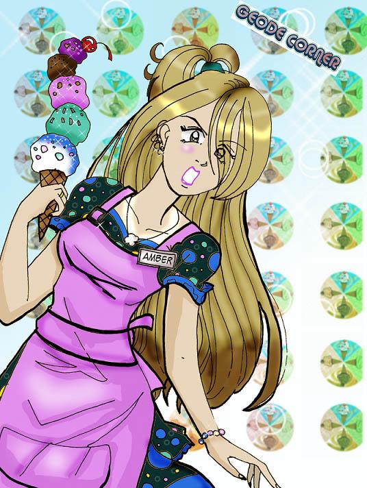 Ice Cream Girl by TRALLT