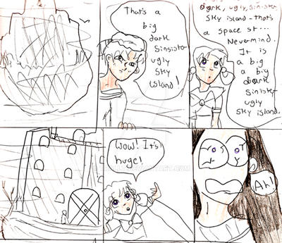 7th Grade Comic Fail by TRALLT