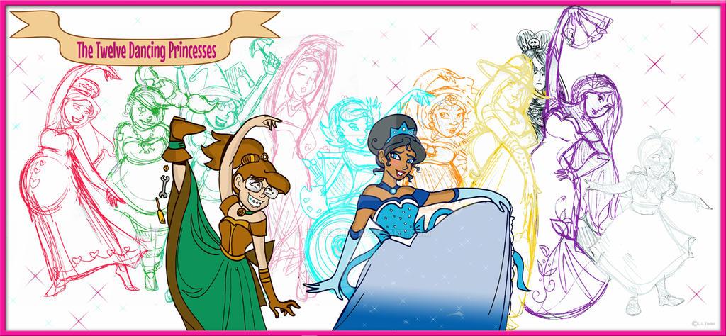 Twelve Dancing Princesses by TRALLT