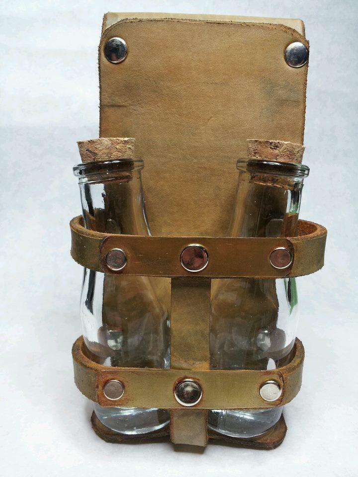 Steampunk belt bottle holder by deadlancesteamworks on - Steampunk bett ...