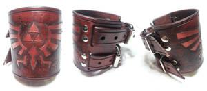 Steampunk Legend of Zelda Bracelet / Wrist Cuff