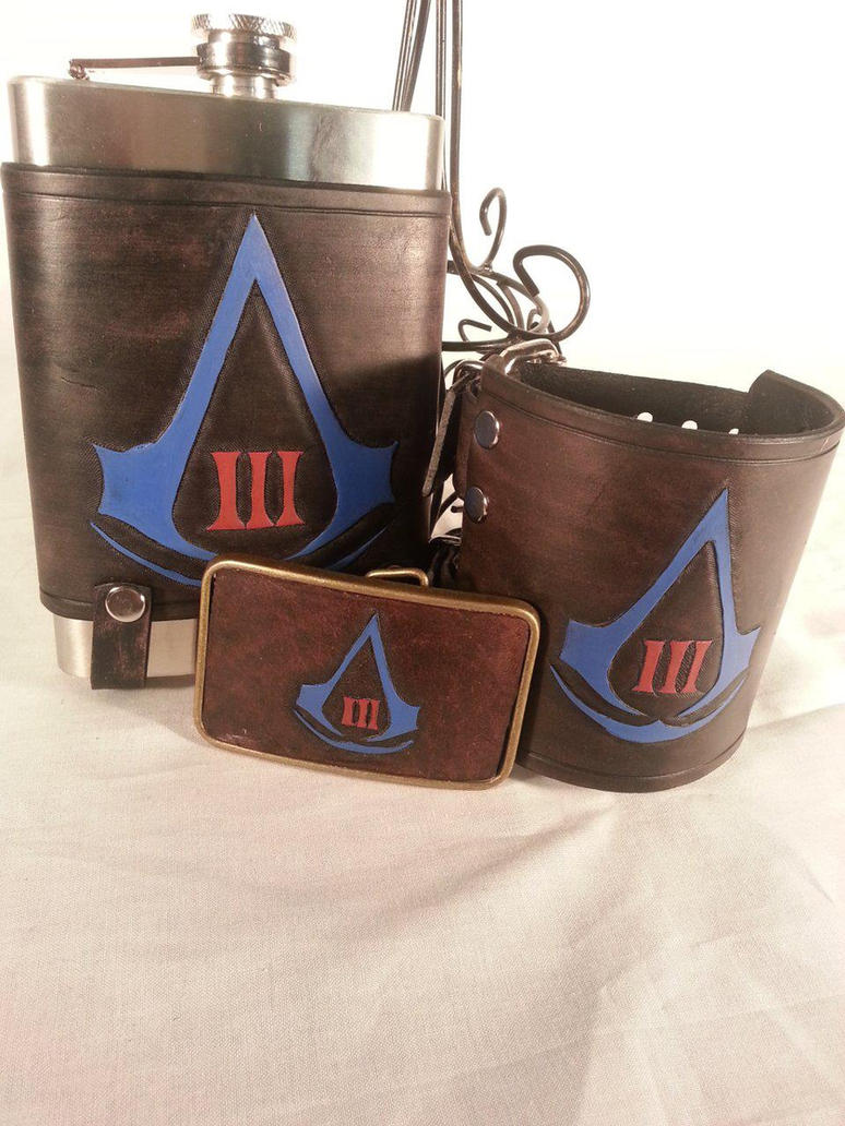 Assassin's Creed 3 Red and Blue Christmas Set by deadlanceSteamworks