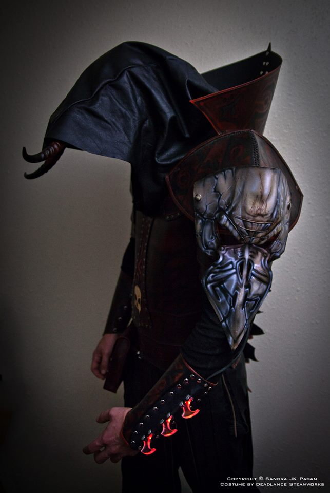 The Warlock Armor by deadlanceSteamworks