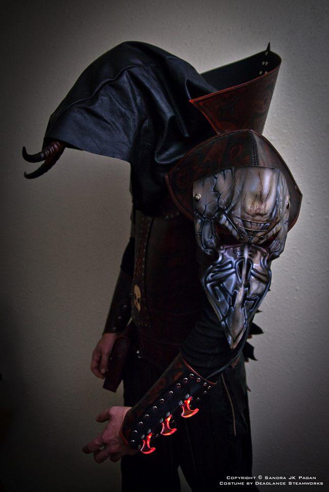 The Warlock Armor by deadlanceSteamworks