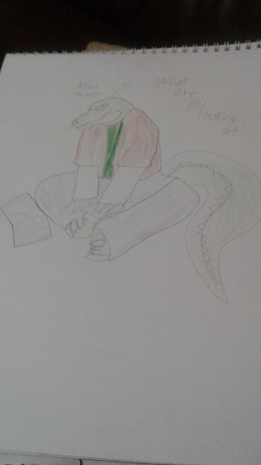 The Crocodile nerd by Animatorist