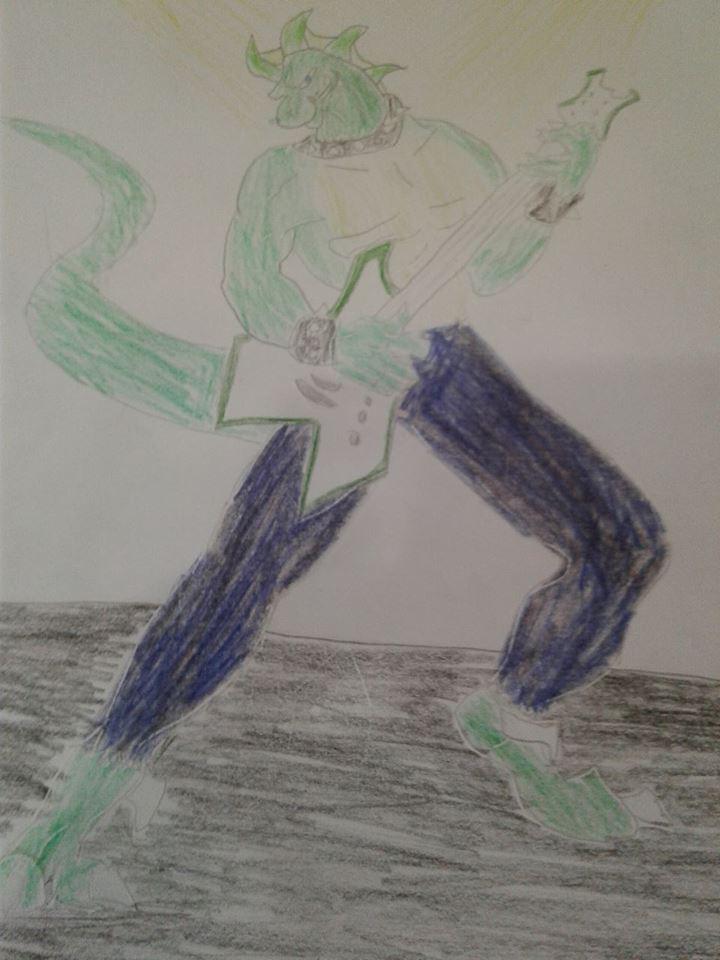 AxlReigns ROCK ON by Animatorist