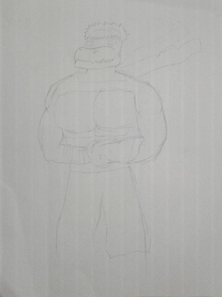 Rpg Tyler (SKETCH) by Animatorist