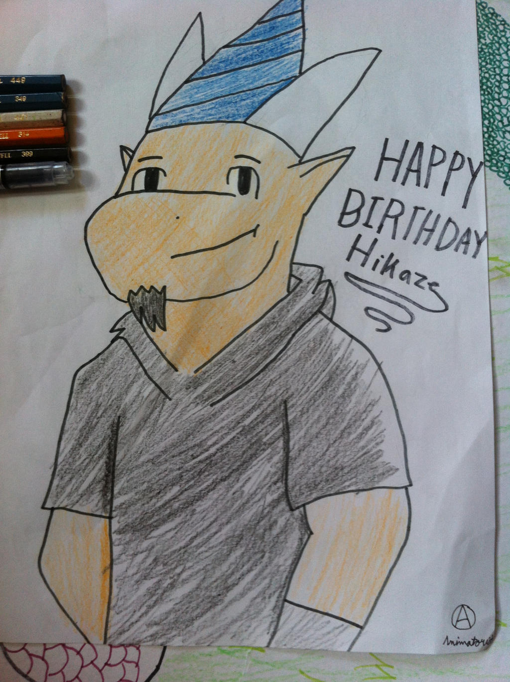 Happy Birthday HikazeDragon!!!! by Animatorist