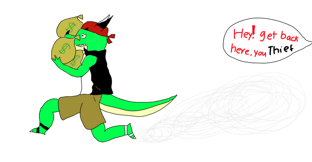 Dragon Theif by Animatorist